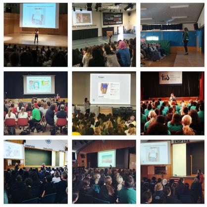 Talks at various schools.
